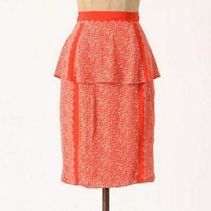 Plenty by Tracy Reese Broken Levels Peplum Skirt